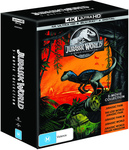 Jurassic World 5 Movie Collection Box Set 4K $55 Big W