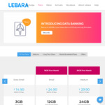 Lebara Prepaid Mobile 30 Day Plan $14.90 Unlimited Calls & Text, 3GB Data (+3GB if Auto Recharging) + Data Banking up to 200 GB