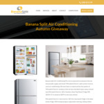 Win a Mitsubishi Electric 385L Stainless Steel Top Mount Fridge [Open to Residents of Canberra, Queanbeyan + Surrounds]
