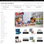 25% off Full-Priced Toys (Including LEGO) @ David Jones