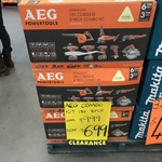 [NSW] AEG 8 Piece Set for $699 (Was $999) @ Bunnings Greenacre
