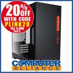 InWin MicroATX 301 Tempered Glass Black Case $71 + Delivery @ Computer Alliance eBay