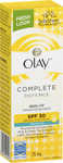½ Price on Olay Products, e.g. Complete Defence Daily UV Moisturiser Lotion SPF 30 75ml $6.50 @ Big W