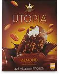 Monarch Utopia 4 Pack Ice-Cream Varieties $2.99 (Usually $3.49) @ ALDI