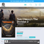 [PC] 50% off Tom Clancy's The Division 2 (All Editions) - Ultimate $89.97 ($71.98 with 100 Uplay Tokens) @ Ubisoft