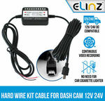 12v - 5v Hard Wire Kit with Mini USB Power Cord for Dash Cameras $10.50 Delivered @ SydneyCarSecurity eBay