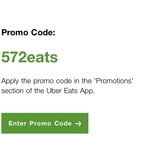Free Delivery on Next 3 Orders @ Uber Eats
