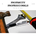 26% off 3 Pack of Profanity Pens $18.95, 20% off 5 Pack $28.99 Delivered @ Profanity Professionals