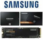 [eBay Plus] Samsung 860 EVO 1TB $157.25, Samsung 970 Evo Plus 1TB $262.65 Delivered @ Shallothead eBay
