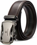 30% off BOSTANTEN Leather Belt (Waist Size 34-46) $17.49 + Delivery ($0 with Prime/ $39 Spend) @ Bostanten Amazon AU