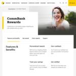 CommBank Rewards: $10 Cashback on $60 Spend at Menulog, $25 Back on $125 Spend at Oakley, $20 Back on $100 @ New Balance & More