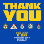 [BF, ACT] Free General Admission Tickets for ACT/NSW Emergency Services and RFS Personnel and Family to Brumbies vs Reds