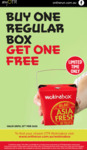 [SA] Buy 1 Regular Box & Get 1 Free @ OTR Wokinabox