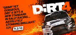 [PC] Dirt 4 $10.78 (70% off) @ Steam