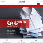 10% off ($80 Min Spend) at T.M.Lewin. Free Shipping with $150 Spend. 4x Non-Iron Shirts from $82 Delivered.