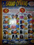 Paul's Warehouse Clearance - 10c Clothing - $5 Havianas [ACT]