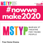 Free Home Drama Exercises for 5 - 18 Years from Marian St Theatre for Young People
