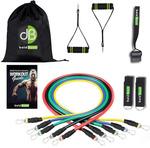 Home Gym Resistance Bands Set GB £20.22 (AU ~$38.96) Delivered @ Bold Bands