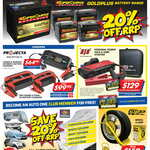 Supercharge Gold Plus Batteries 20% off RRP (MF50 $143.20) @ Auto One