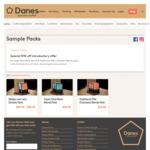 15% off Danes Specialty Coffee Sample Packs