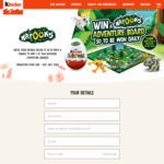 Win 1 of 1500 Natoons Board Games from Kinder