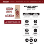 15% off Storewide + Free Shipping @ The Killer Coffee Co