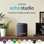 Amazon Echo Studio $164.50 with Amazon Music Trial (RRP $329) @Amazon