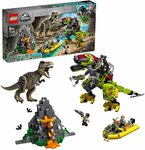 LEGO Jurassic World T. Rex vs Dino-Mech Battle 75938 $71.20 Delivered (RRP $129.99) @ Amazon AU