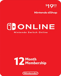 [Switch] Nintendo Switch Online 12 Months Individual Membership eShop Key US$14.39 (A$19.99) (US Account Required) @ Bcdkey