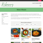[VIC] Free Delivery + 10% off @ Riberry Gourmet Home Delivered Meals