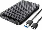 ORICO 2.5 Inch SATA USB 3.0 HDD/SSD Enclosure - $10.19 + Delivery ($0 with Prime/ $39 Spend) @ ORICO Amazon AU