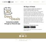30 Days of Deals @ The Coffee Club (App) BOGOF BURGERS etc