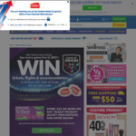 Win Cash, Tickets, Hotel Stays and Airfares to All 2021 State of Origin Games with Telfast from Chemist Warehouse