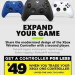 Xbox Series X|S Controller $49 ($39.20 with EB World Level 4 Bonus) When You Trade in Your Old Xbox One Controller @ EB Games