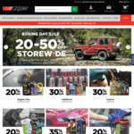 20-50% off Storewide, 30% off Tools, Castrol & Additives, 35% on Armour All @ Repco