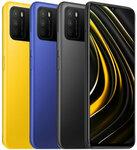 "POCO M3 Global Version 48MP Triple Camera 6000mAh 6.53"" 4GB RAM 64GB Blue/Yellow for US$141.87 (~AU$182.52) Delivered @ Banggood"