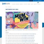 Win 1 of 10 $500 GiftPay Gift Cards from Just Cuts