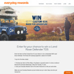Win a Custom Land Rover Defender TD5 4x4 Worth $125k from Everyday Rewards
