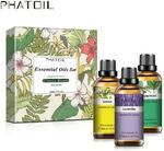 Phatoil 30ml×3pcs Classic Blends Essential Oil Set US$13.72 (~A$17.79, 50% off) Delivered (A$10 off for New Members) @ Phatoil