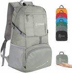 Zomake Ultralight Foldable Travel Backpack 35L(White Only) $11.89 + Delivery ($0 with Prime/ $39 Spend) @ zomakinc via Amazon AU