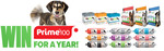 Win a Year's Supply of Dog Food Worth $2,040 from Prime100