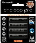 Eneloop Pro AA/AAA 4pk $17.50 + Delivery @ Bing Lee