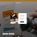 Up to 40% off Coffee & Equipment Storewide + Delivery @ NUDDY Coffee