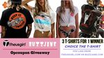 Win a 3 T-Shirts from Theusgirl or Buzzjane