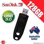 SanDisk Ultra 128GB USB 3.0 Drive $20.95 Delivered @ Shopping Square