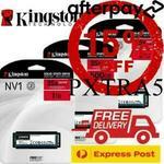 [eBay Plus, AP] Kingston NV1 1TB SSD $124.20 ($117.30 with AP), GeForce RTX3060 OC V2 $899.10 ($849.15 with AP) Del @ gg.tech365