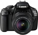 CANON EOS1100D DSLR IS 1LK Blk EFS18-55 IS II Single Lens $399 Delivered (Save $250) @DSE