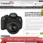 Canon EOS 650D with 18-135mm KIT AUSTRALIAN STOCK ($895 after Canon Cash Back) Free Shipp
