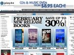 Books at PLAY4ME in February - Save up to 30% off New Release Books (Plus 9% Moneyback)