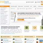 10% off on All Online Professional Courses by Simplilearn